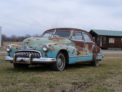 Cash For Clunkers >> Old Car   An old car near Top Hat in Foyil, Oklahoma ...