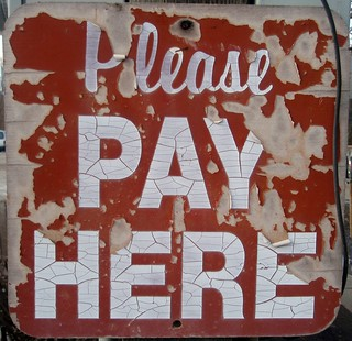 Please Pay Here | by Mykl Roventine