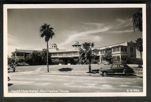 Port Isabel 1950s Yacht Club Hotel  2