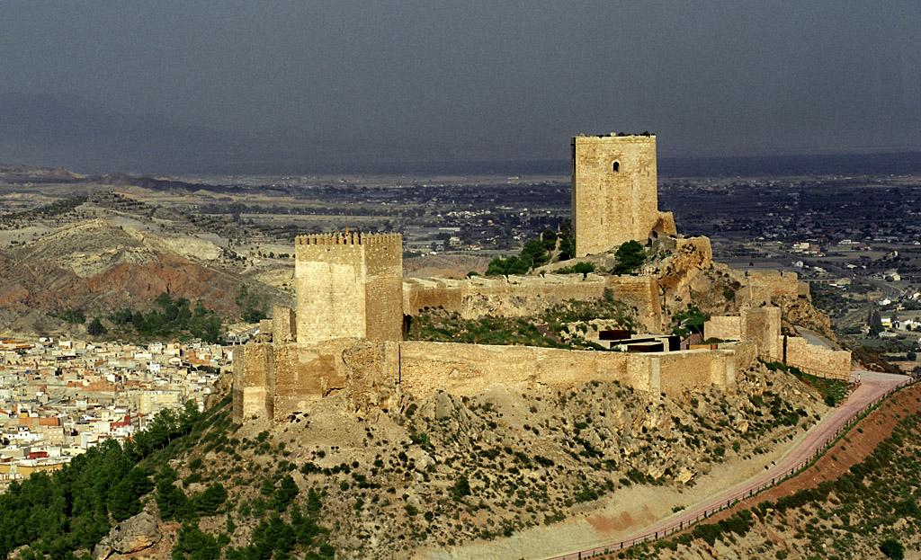 Castillo de lorca murcia dedicada a toda la maravillosa - Lorca murcia fotos ...