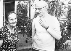 Großmutter und Großvater
