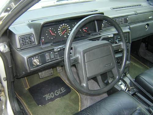 Volvo 760 Turbo Diesel Steering Wheel 1984 Hinterland 1
