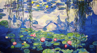 After Monet Water Lilies | by Fareed Suheimat