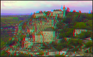 Rocamadour, France in 3D | by kiwizone