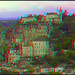 Rocamadour, France in 3D