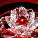 Christmas Crystals - Red Sphere