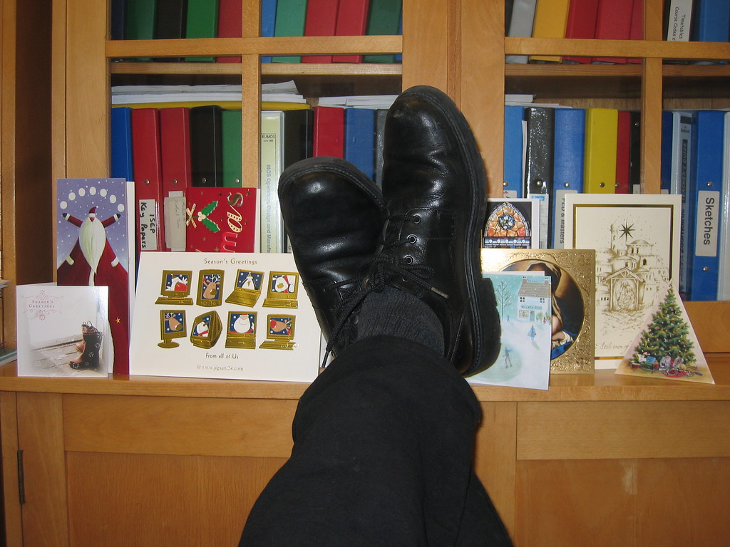 David Muir Feet 338/365: Feet up   Las...