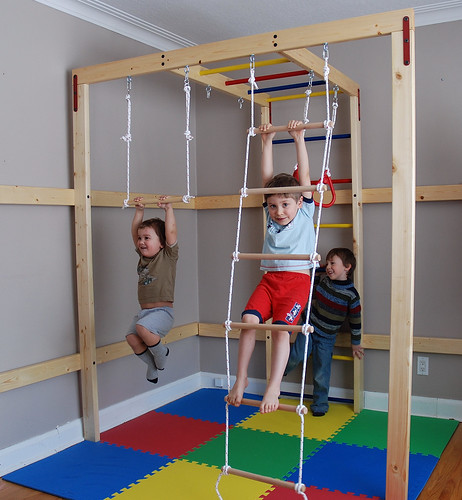 Indoor Jungle Gym For Your Home Do Your Children Use