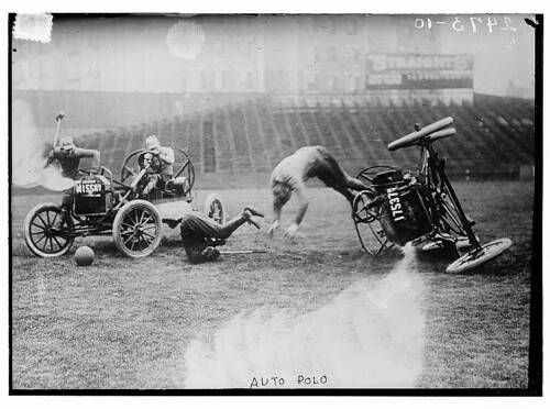 Auto polo  (LOC) | by The Library of Congress