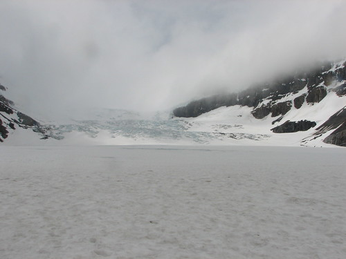 Standing On The Athabasca Glacier! | by Tom Ayres