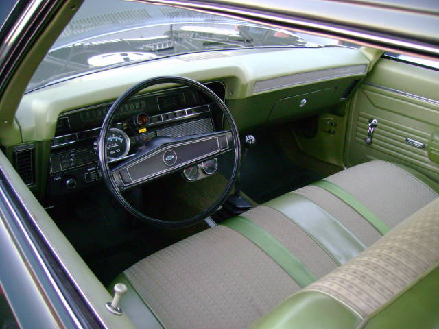 1969 Chevy Biscayne Interior Shot Other Than A Tach And