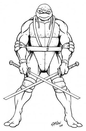 Line Art Ninja Turtles : Teenage mutant ninja turtles future tense tmnta volum