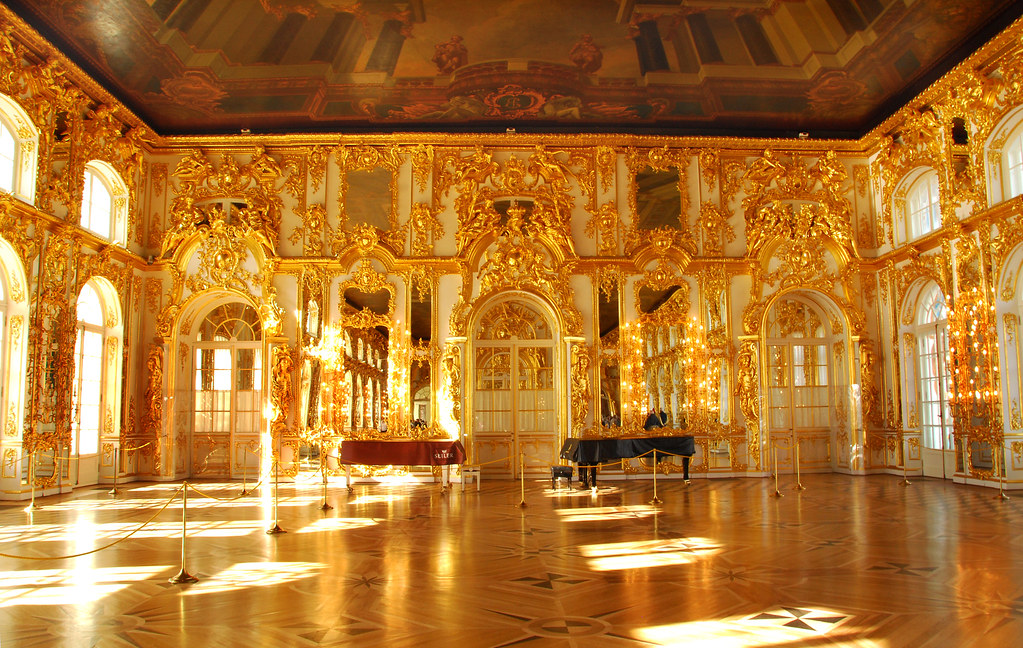Gold room | This is Catherine the Great\'s summer palace. Rus… | Flickr
