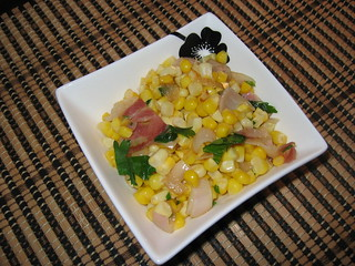Corn, Shallots and Pancetta | by Kevin - Closet Cooking