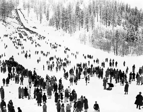 Third annual ski tournament, Leavenworth | by UW Digital Collections