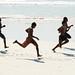 Beach athletes