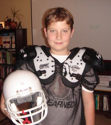 Will in football uniform annette heinemeyer flickr for Annette hein