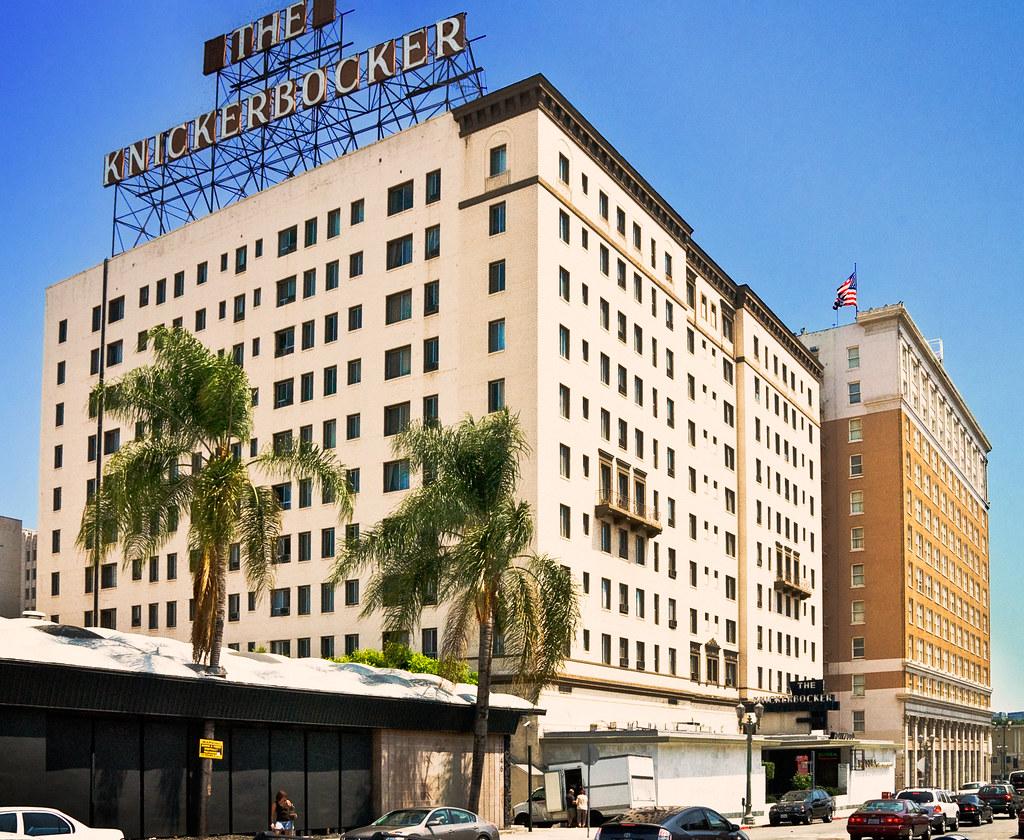 Hollywood Knickerbocker Hotel 1923 1714 Ivar St Hollyw