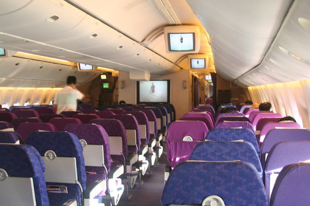 Thai Airways Boeing 777-300 Interior Thai Airways 777-300 | by