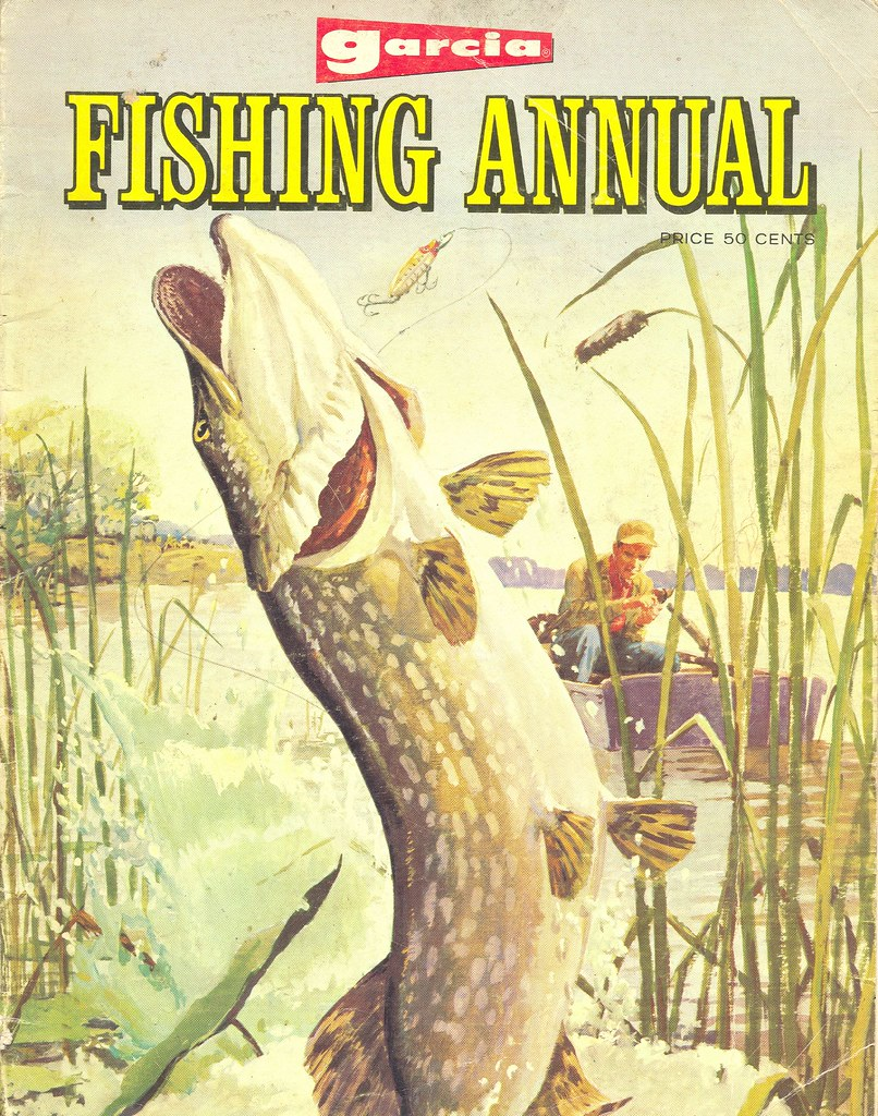Annual 1969 garcia annual fishing guide and catalog flickr for Free fishing catalogs