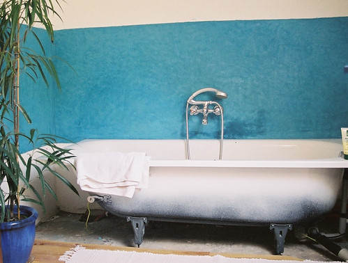 Contour de baignoire en tadelakt le contour de la baignoir flickr - Contour de baignoire ...