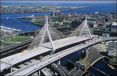 Boston Zakim Bridge Widest In The World The Widest