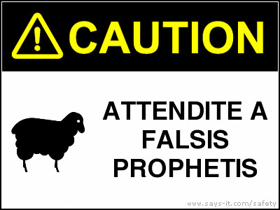 Beware of False Prophets | by Medieval Karl