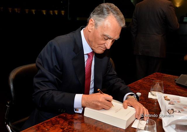 Cavaco Silva lança novo livro no Centro Cultural de Belém