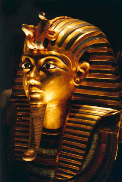 golden mask king tut