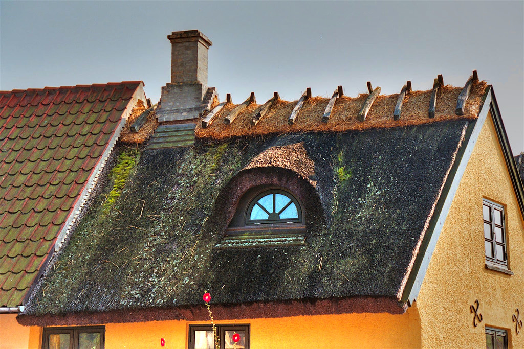 Thatched Roof Architecture Drag 248 R Denmark Located Near