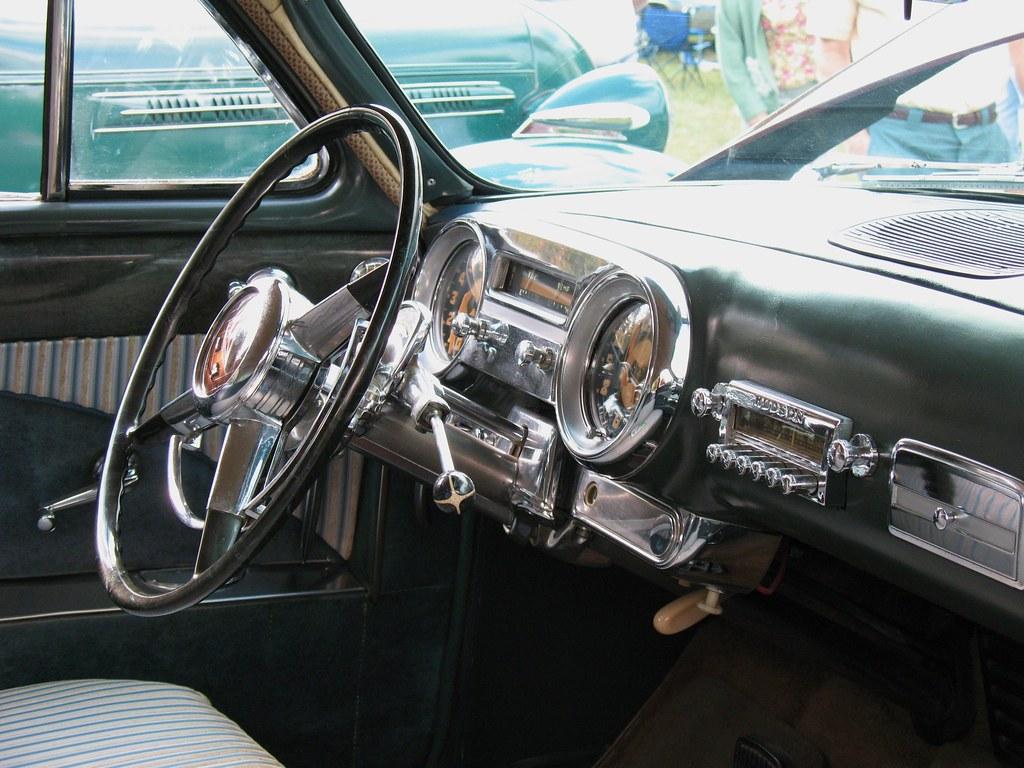Dc Car Show >> 1952 Hudson Hornet Dash | Dashboard of 1952 Hudson Hornet at… | Flickr