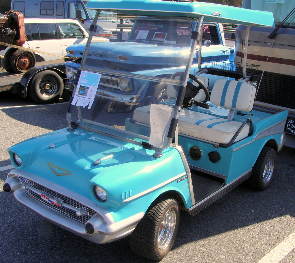 57 Chevy Golf Cart The Custom Carts 57 Chevy Is