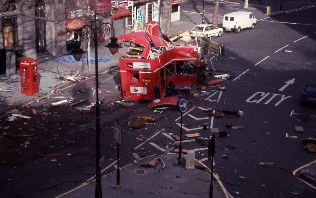 Ira Bomb Car Attack London