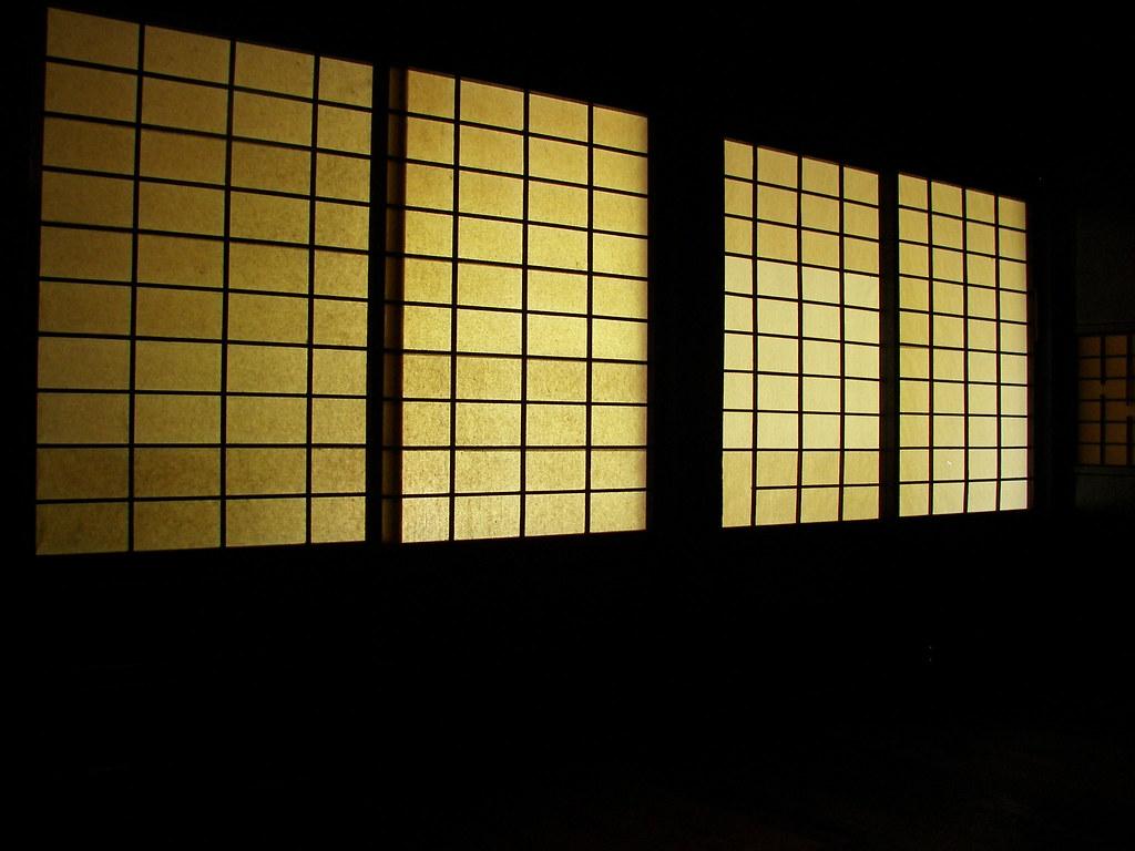 Carta di riso interno di una tipica casa giapponese for Casa tipica giapponese