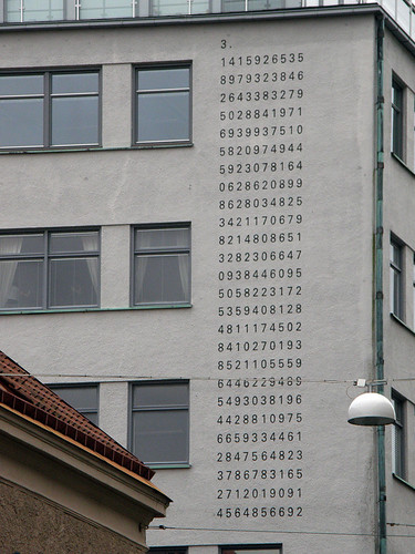 Pi on the wall | by Eva the Weaver