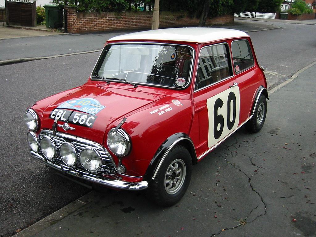 Ex Works BMC Mini Paddy Hopkirk | Ex Works BMC Mini Cooper '… | Flickr
