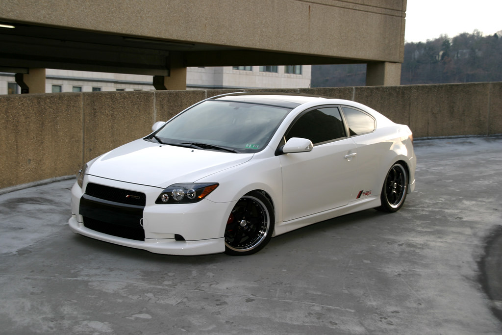 2008 Scion Tc High Front Jim Backed His Car Up The