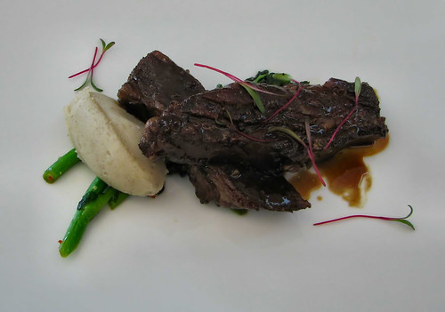 The 72 hour Sous-Vide Beef Short Rib with Chestnut Potato Mash at C5 | by viviloob