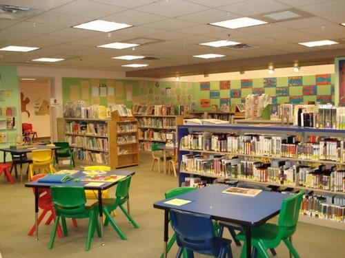Wheaton library children s room