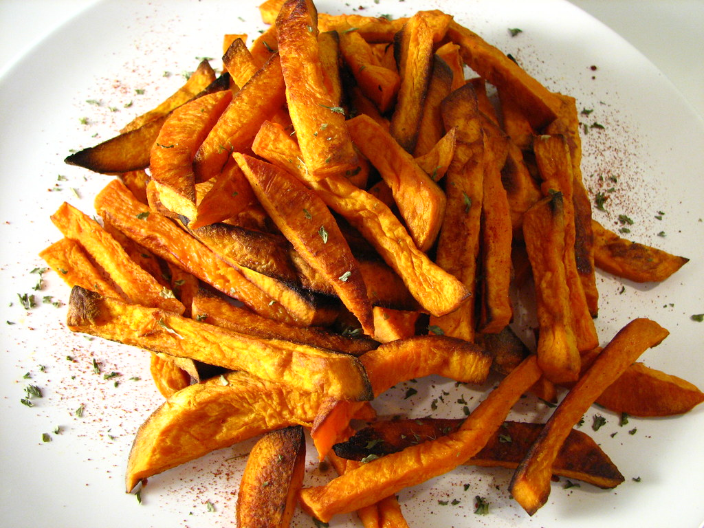 Oven Baked Sweet Potato Fries This Was Our Superbowl