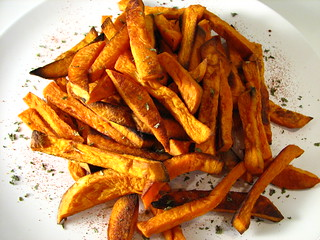 Oven-baked Sweet Potato Fries | by Sashertootie