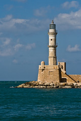 Chania lighthouse | by macropoulos