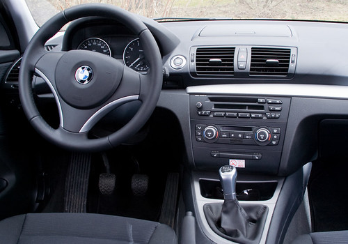 Bmw 116i Interior Ii First Attemps In Car Photography