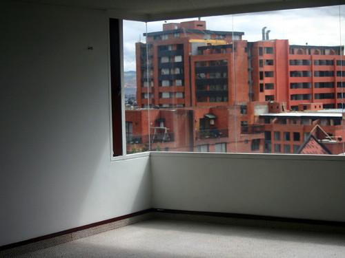 Vista desde el apartamento sin muebles apartamento en for Muebles apartamento