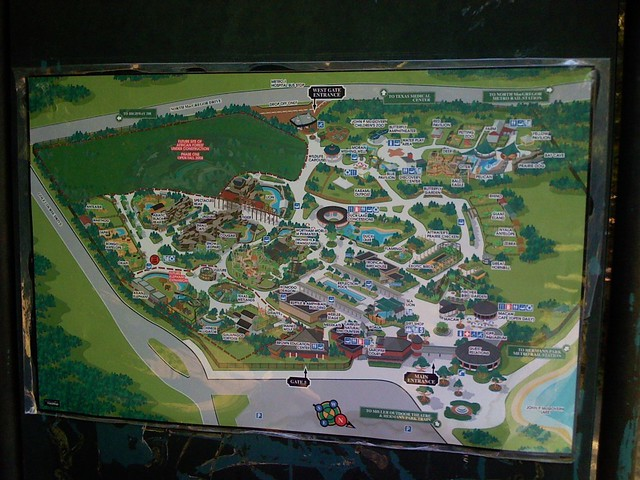 Houston Zoo map Anthony Brown Flickr