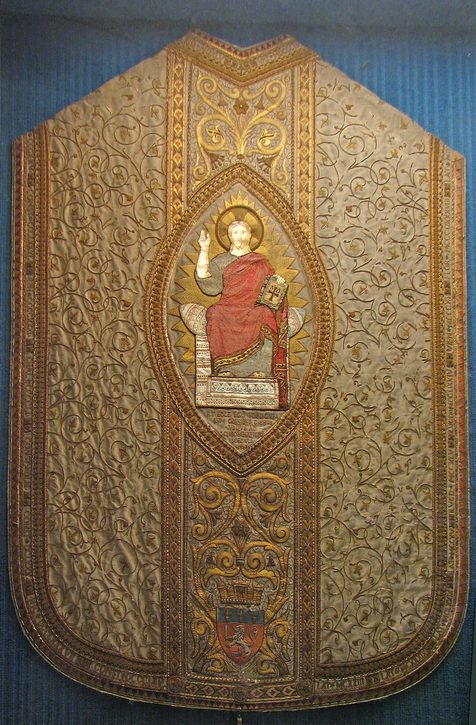 Vatican I chasuble   The First Vatican Council opened on 8 D…   Flickr