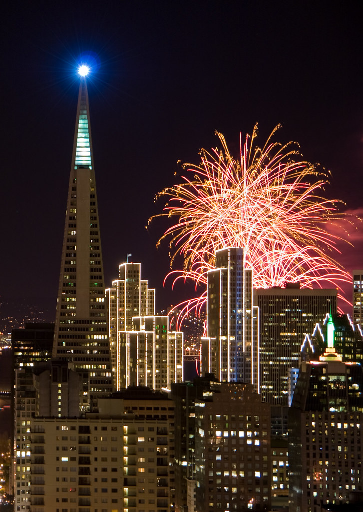 san francisco new years fireworks 2008 by canbalci