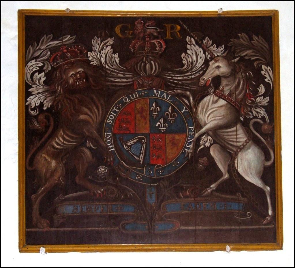 Queen Anne   St Mary, Brent Eleigh, Suffolk Queen Anne royal…   Flickr