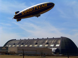 Goodyear Airdock Hangar Fly-By! | by p.csizmadia