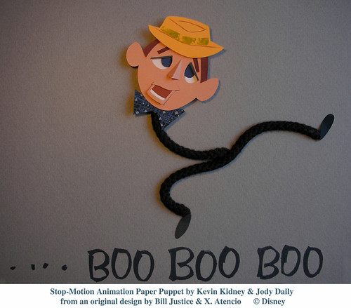 "Stop-Motion Paper Puppet - Bing Crosby | ""I'm Blue for You ... The World Is Not Enough Dvd"